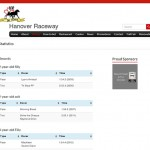 Softext - Hanover Raceway WebSites