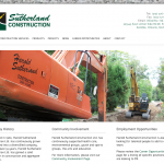 Softext - Sutherland Construction Home Page