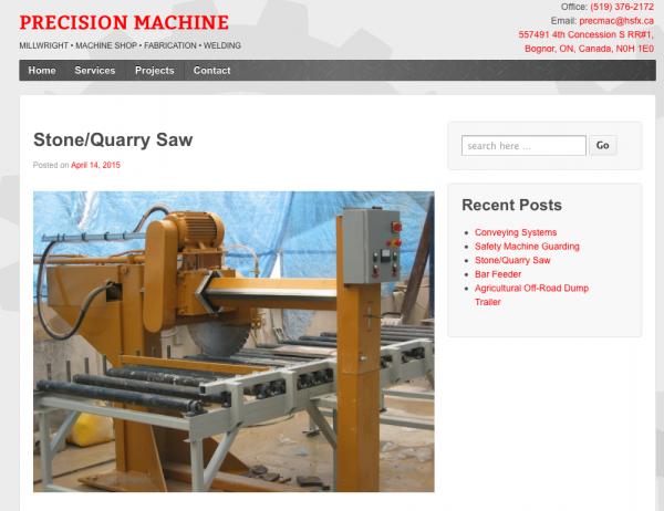Precision Machine Shop