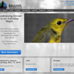 Bruce Peninsula Bord Observatory Splash Page