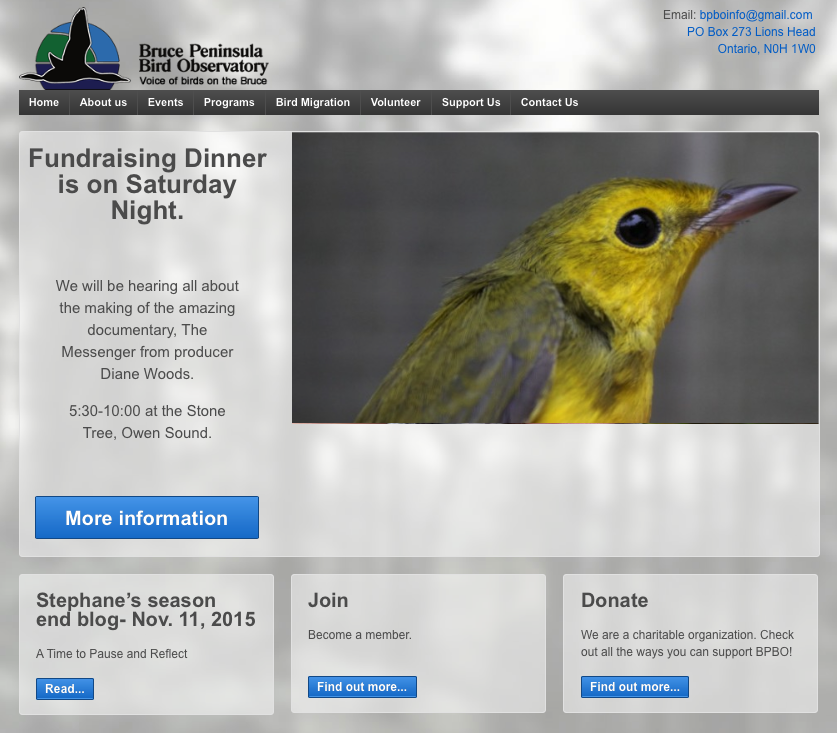 Bruce Peninsula Bird Observatory