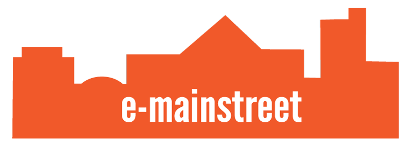 e-mainstreet logo softext
